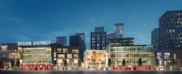 London's first 'Design District' to open on Greenwich Peninsula