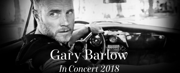 Gary Barlow announces intimate UK solo tour for 2018