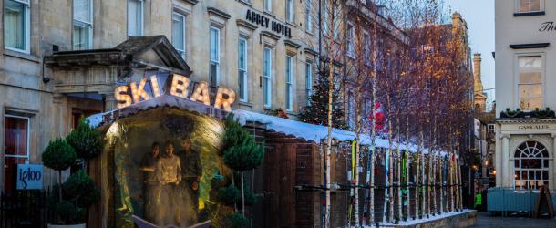 Bath's Abbey Hotel kicks off Christmas countdown with pop-up Après Ski Bar