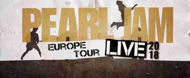Pearl Jam announce Summer 2018 European Tour