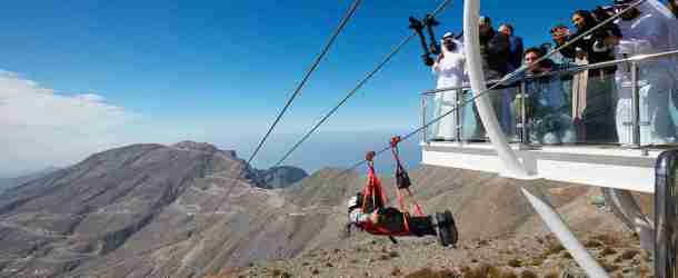 Ras Al Khaimah's 'Jebel Jais Flight' zipline receives Guinness World Record