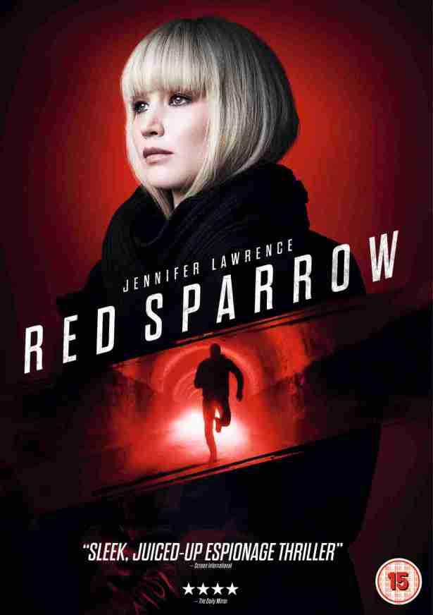 The Arts Shelf – 'Red Sparrow' arrives on Digital on 25 June & on