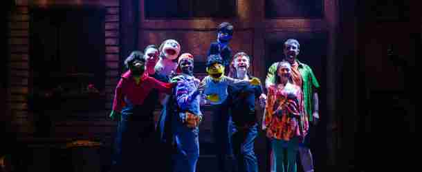Avenue Q Christmas Eve.The Arts Shelf Latest Review Avenue Q Palace Theatre