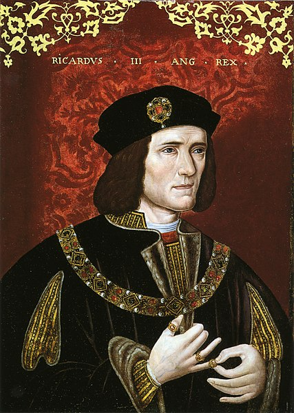 Portrait of King Richard III, late 16th century, unknown artist, National Portrait Gallery