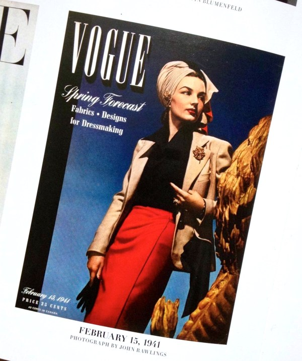 the artyologist image of Vogue February 15, 1941