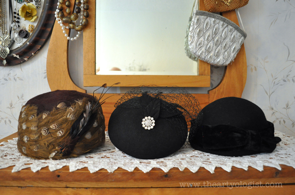 the artyologist image of vintage hats to fix