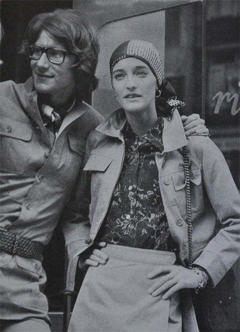 1970's yves st laurent
