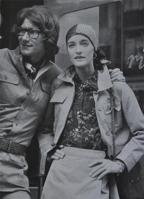 1970's yves st laurent