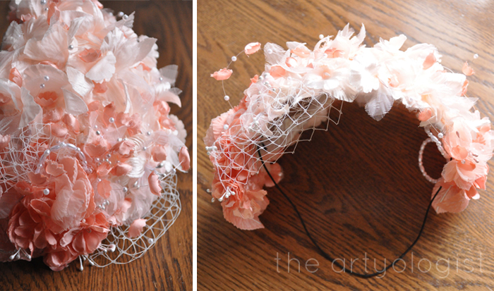 coral hat how to make a hat the artyologist