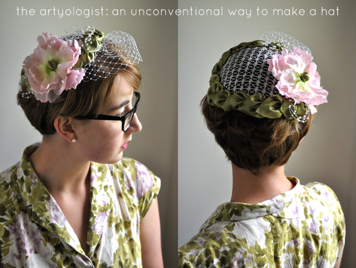 how to make a hat the artyologist