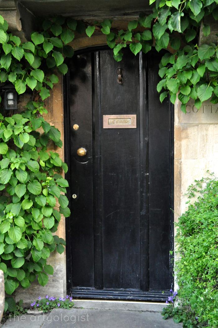 door with vines, the artyologist