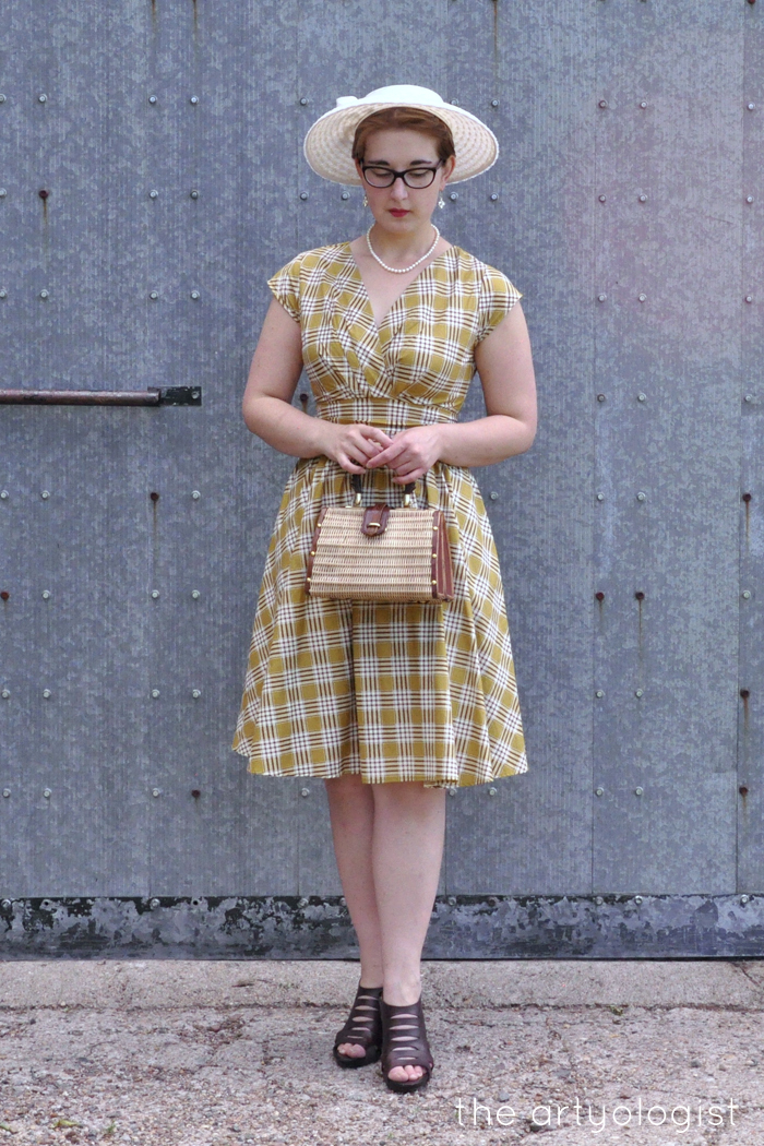 retrolicious nostalgia dress fresh as a daisy the artyologist