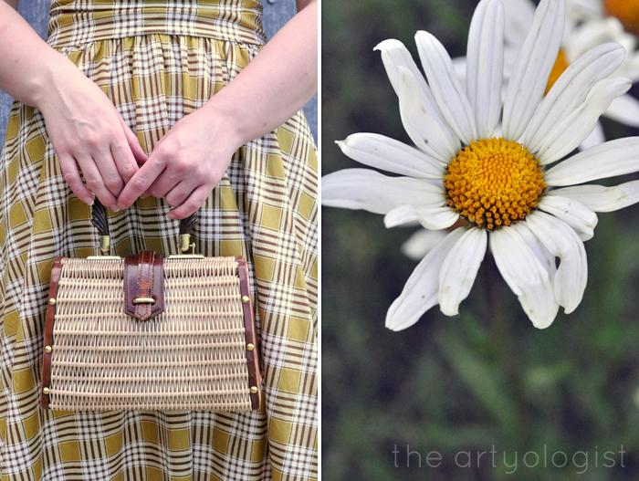 retrolicious dress daisy the artyologist