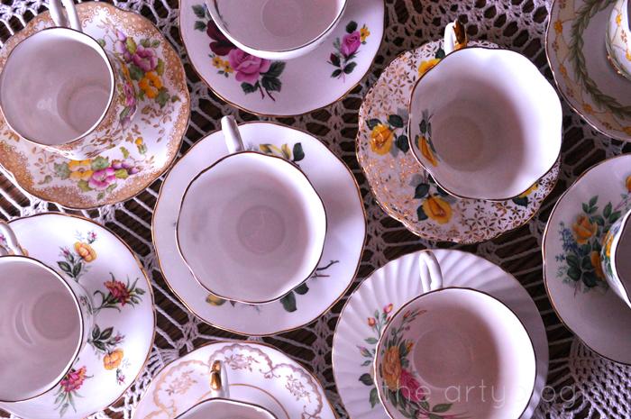 teacups the artyologist