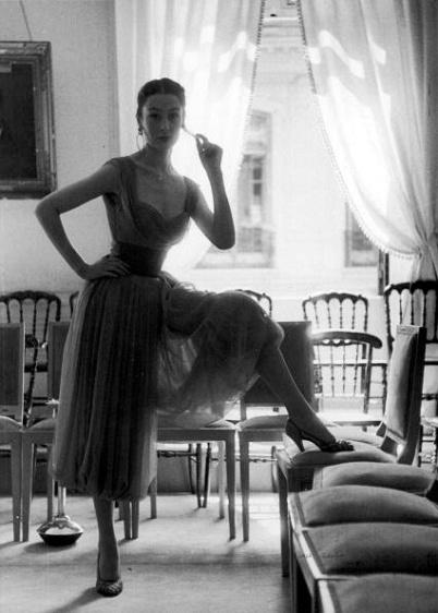 Jacques Fath Canasta Dress