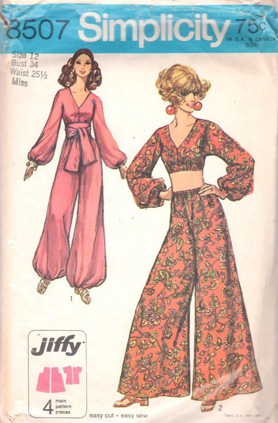 1960's Harem Pyjamas