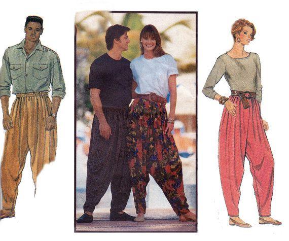 1990's Harem Hammer Pants