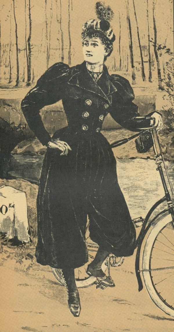 Bicycling Costume