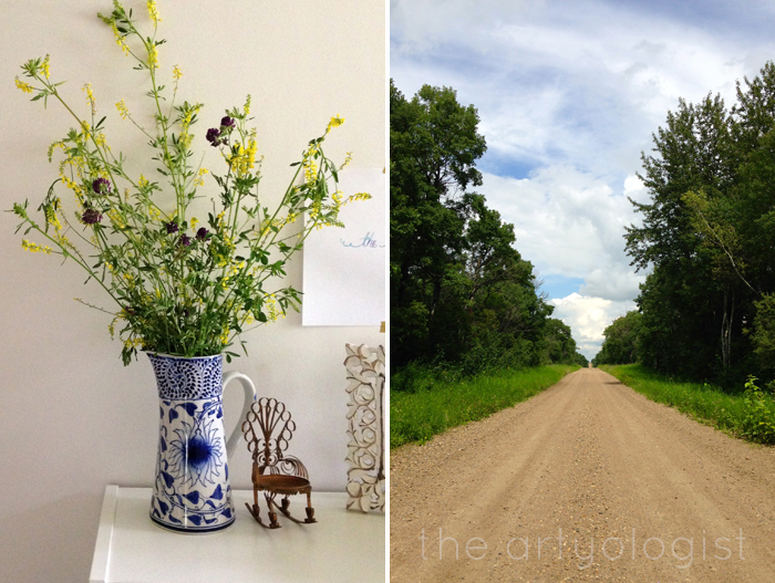Life Lately: In Photos, The Artyologist - Bouquet and Country Lane