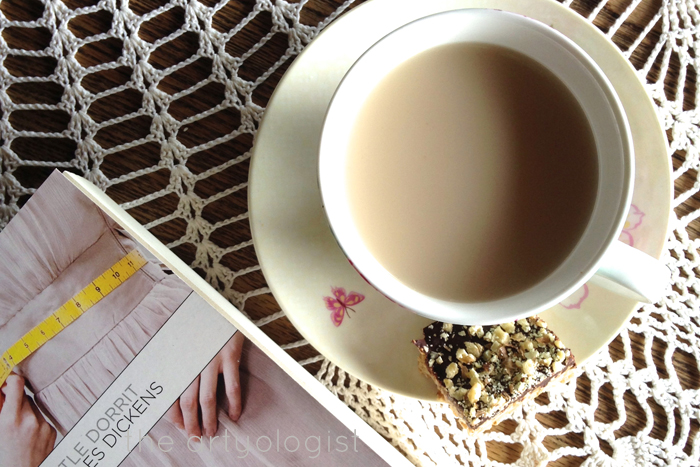 tea a perfect combination, the artyologist