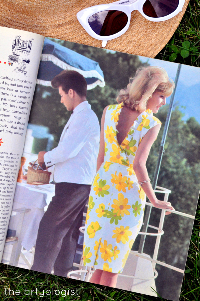 1965 Fashion: Terylene Goes on Holiday, the artyologist