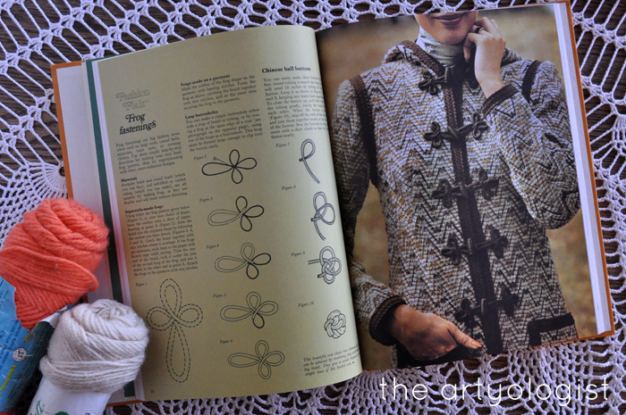 A Fashion Moment with Creative Hands, the artyologist, how to make frog closures