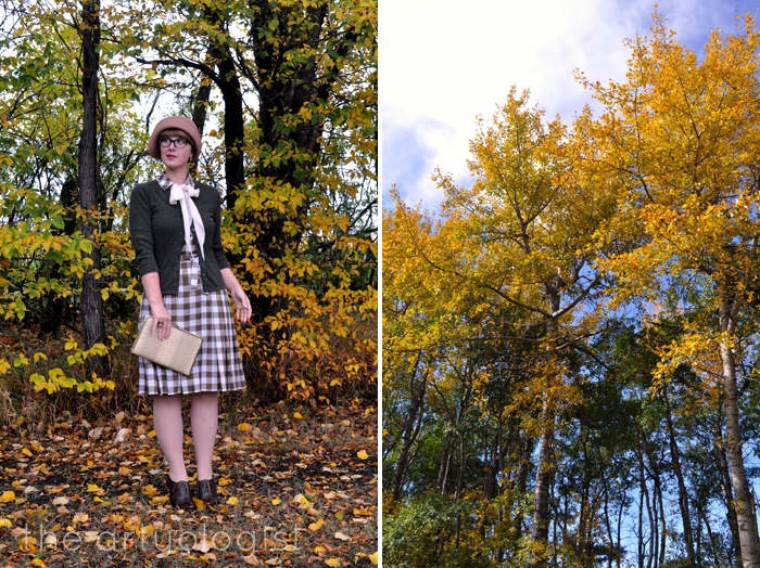 The Dress That Didn't Get Away- the artyologist, 1920's style gingham dress