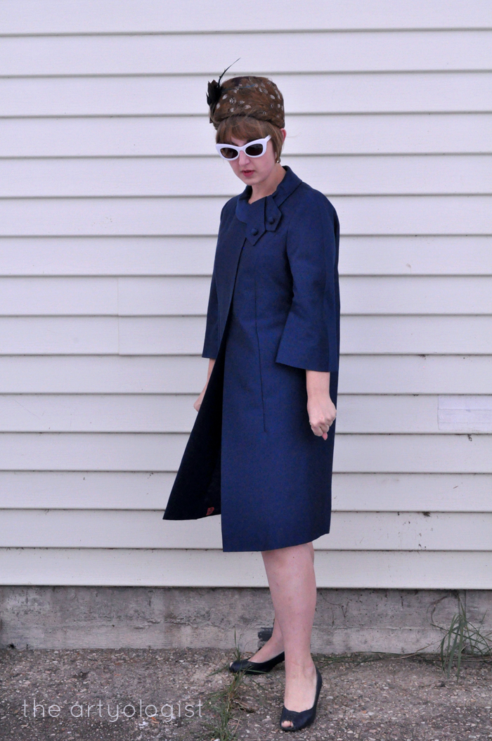 1960's Peggy French coat, the artyologist
