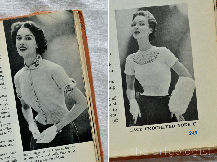 McCall's Treasury of Needlecraft, the artyologist, two elegant ladies