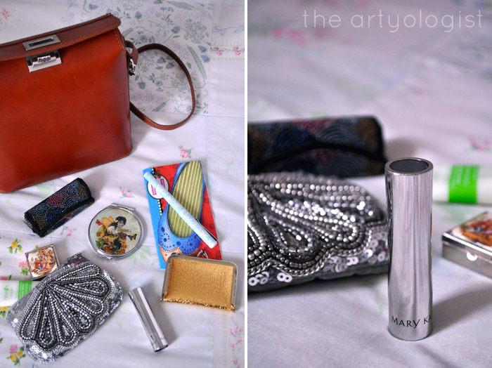 whats in my bag, the artyologist