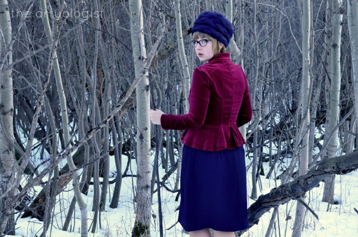The Navy and the Redcoats, military inspired outift, the artyologist