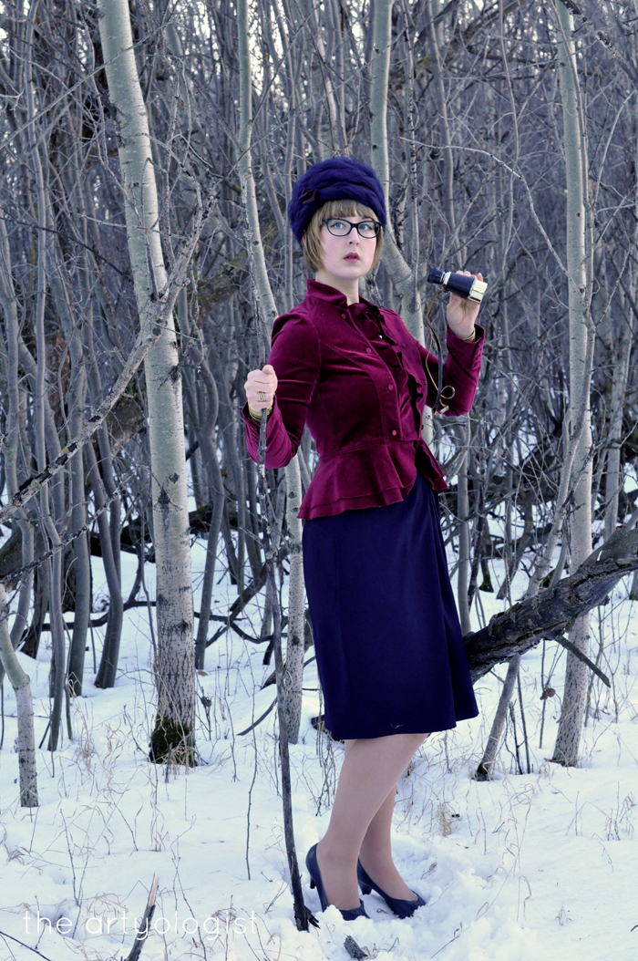 The Navy and the Redcoats, the artyologist, military inspired outfit
