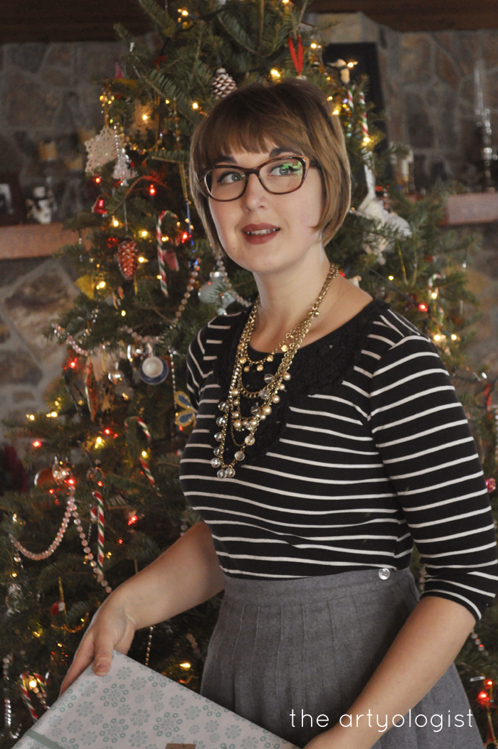 A Christmas Day Outfit, the artyologist