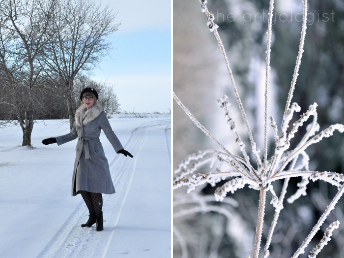 White Wonderland, snow and spinning