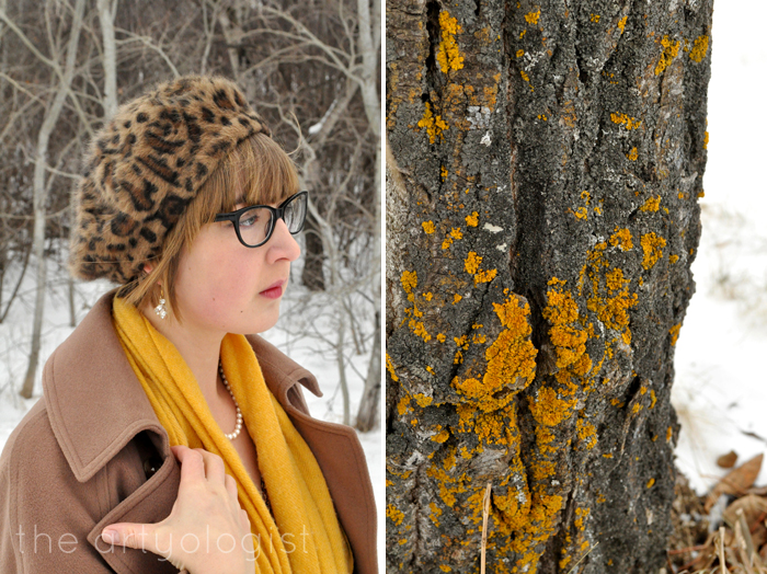 Winter Outerwear: The Bane and Blessing of Our Existence, the artyologist, vintage style coat and hat