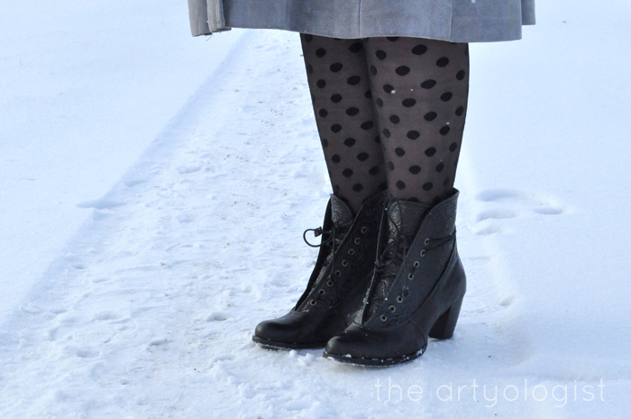 White Wonderland, favourite boots, the artyologist
