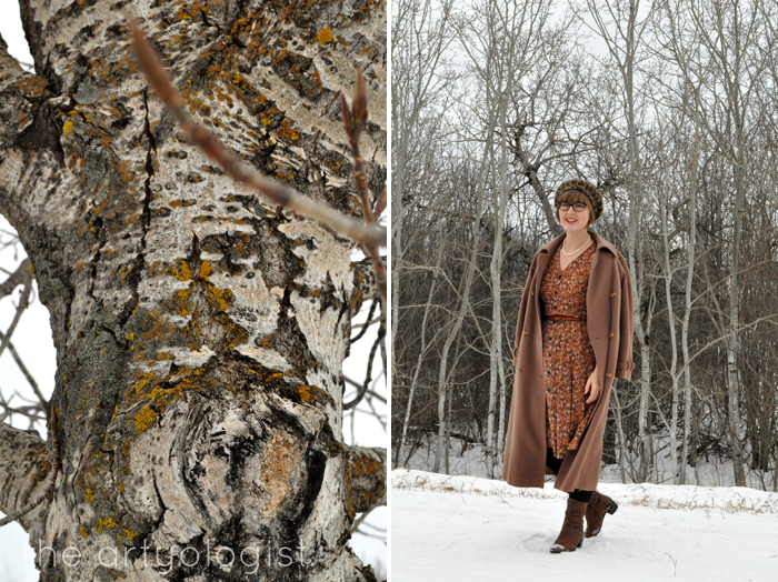 Winter Outerwear: The Bane and Blessing of Our Existence, the artyologist, vintage cashmere coat