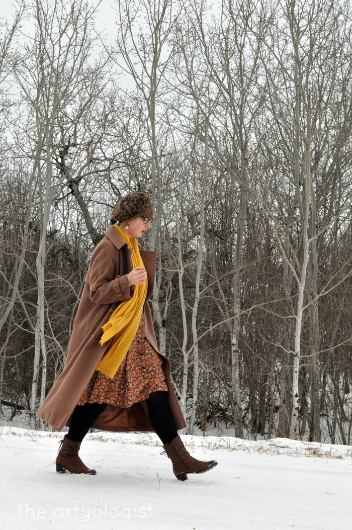 Winter Outerwear: The Bane and Blessing of Our Existence, the artyologist, vintage style winter coat