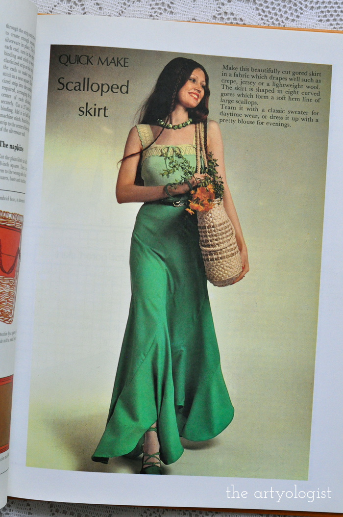 St. Patricks Day Fashion Moment Creative Hands, green tulip skirt, the artyologist