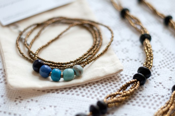 Neat Things: Fair Trade Friday, the artyologist, Papillon Marketplace necklace