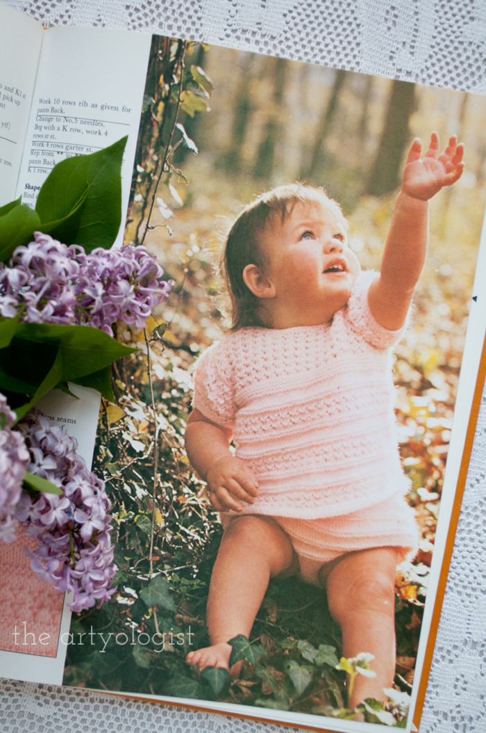 A Fashion Moment with Creative Hands: Lilac, baby outfit