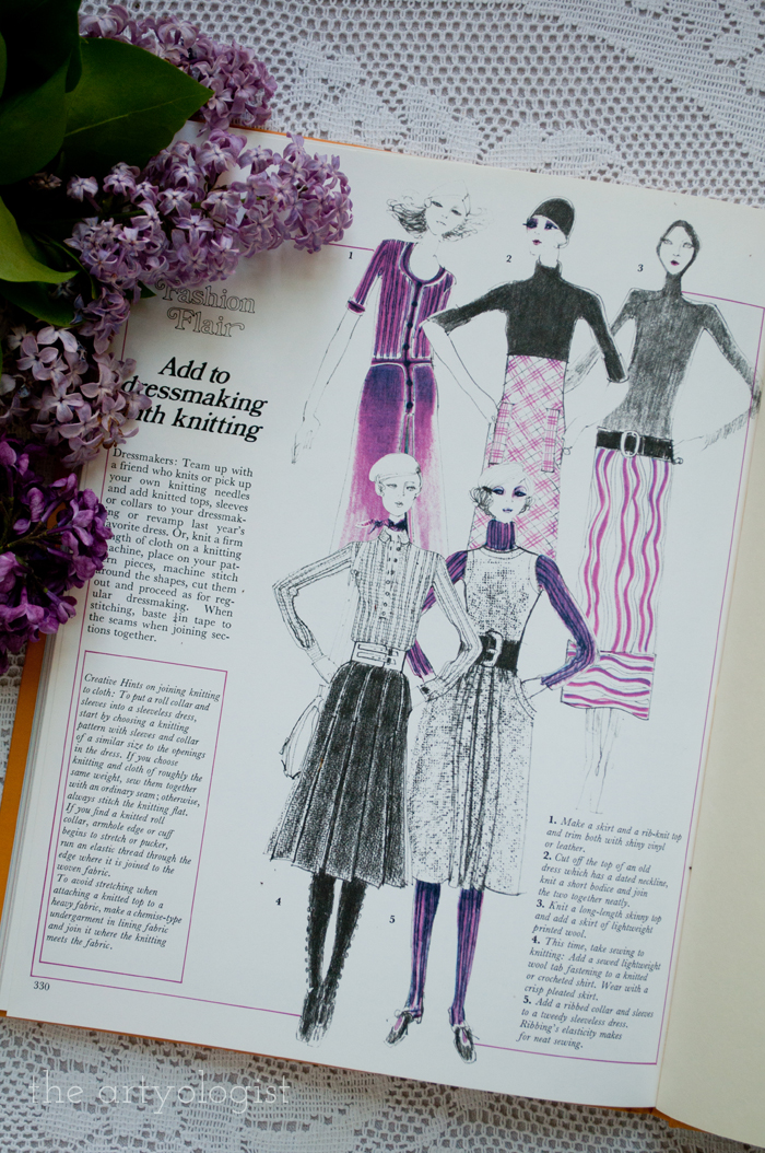 A Fashion Moment with Creative Hands: Lilac, fashion illustrations