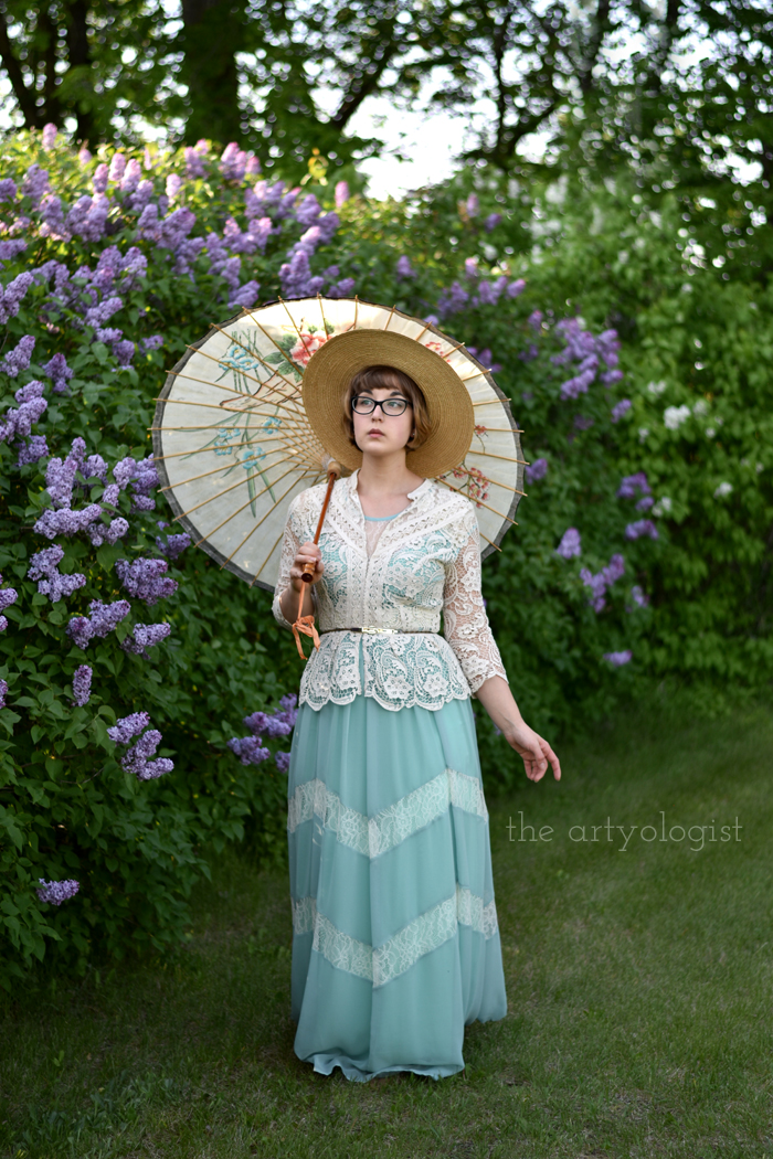 Love Letters and Lilacs (And the post that almost wasn't) the artyologist, feature-with-parasol