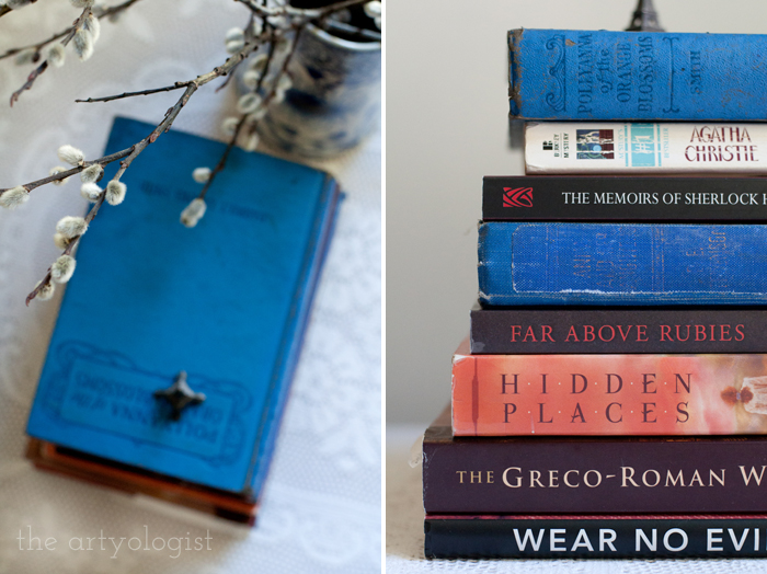 Taking Part in a Book Lover's Tag, the artyologist, two-books-pics