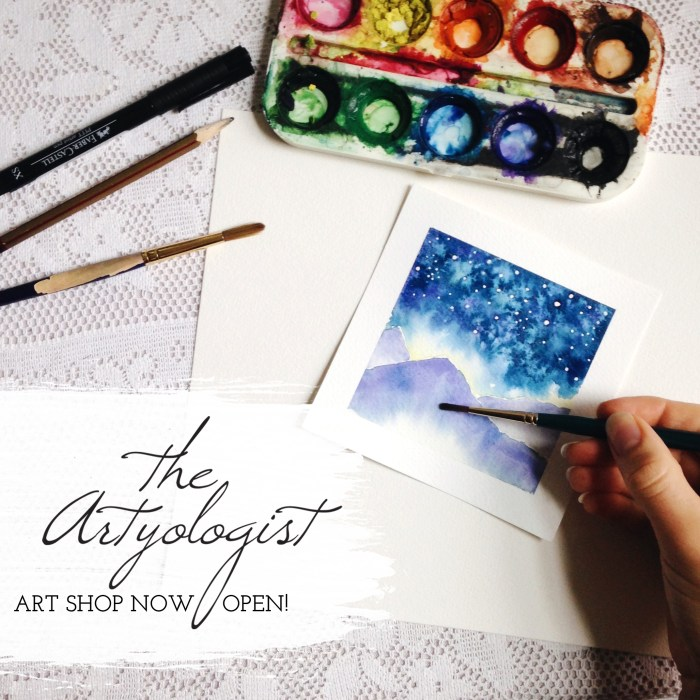 artyologist art shop now open