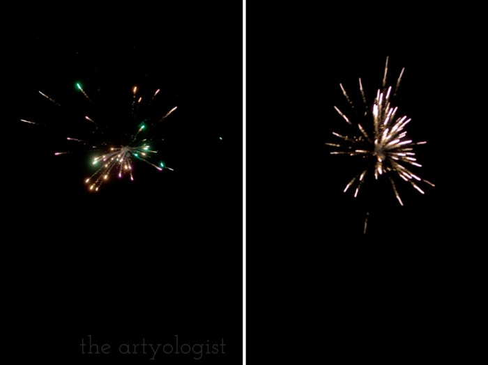 fireworks, the artyologist