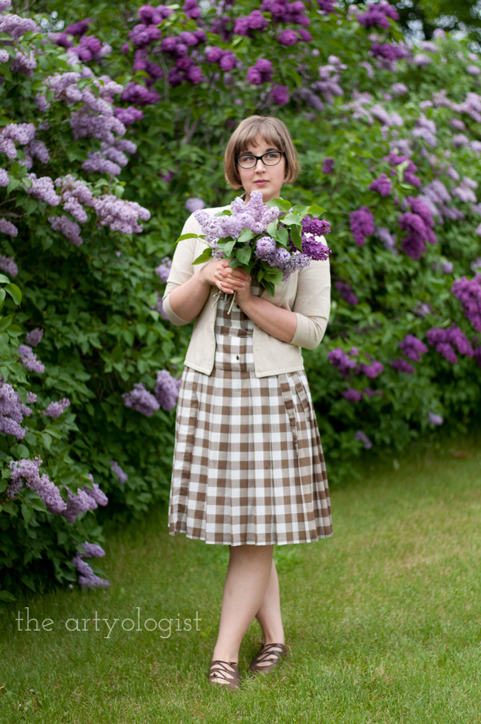 Lilacs, A Gingham Dress and The Second Post That Almost Wasn't, feature 2