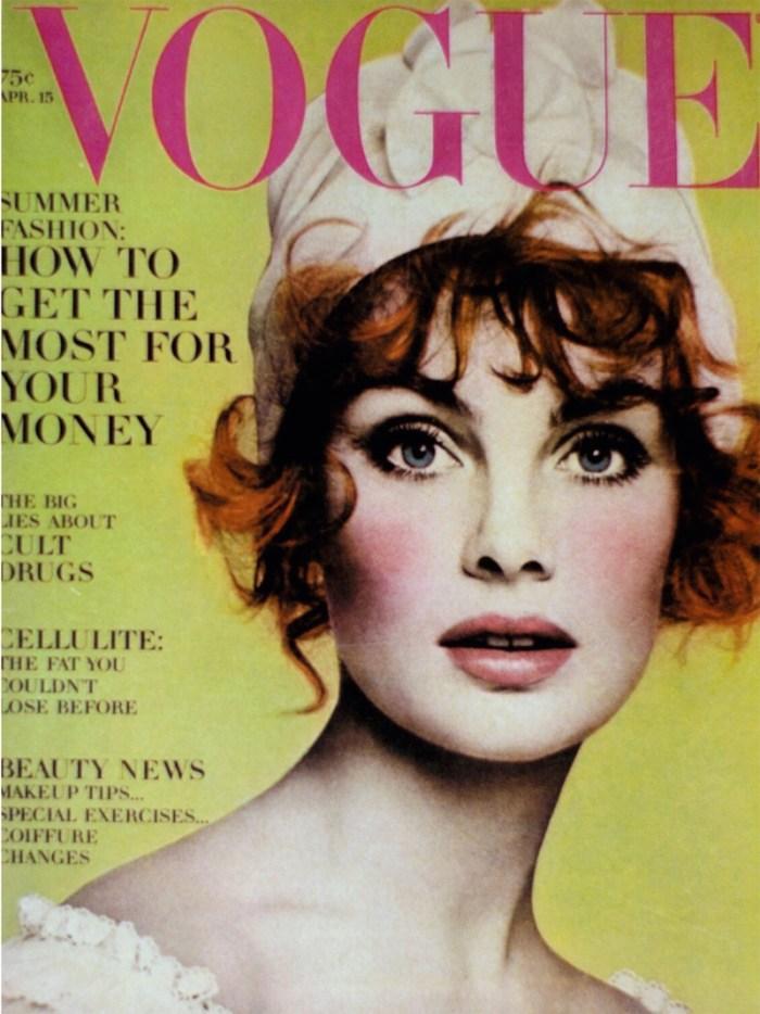 Vintage Vogue Covers: Vogue April 1968