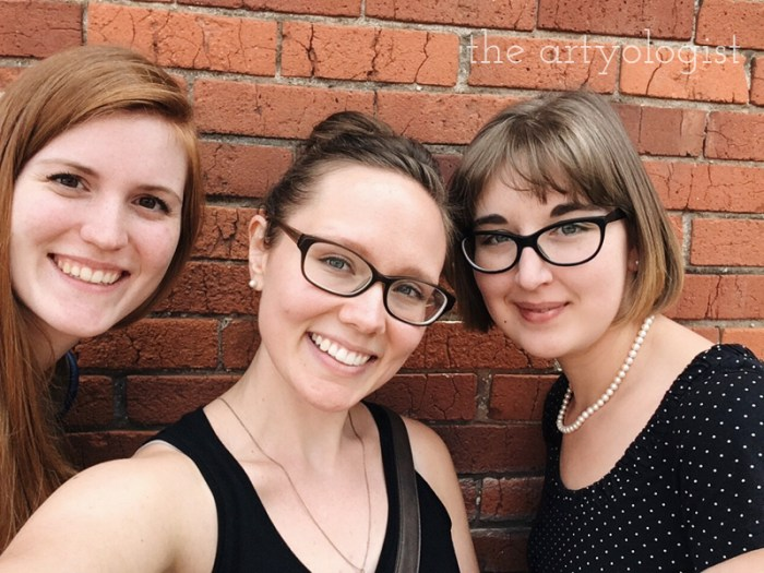 A Flying Trip to Calgary, the artyologist, three friends