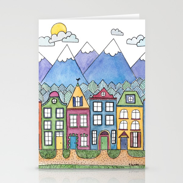 The Village Card, Stationery